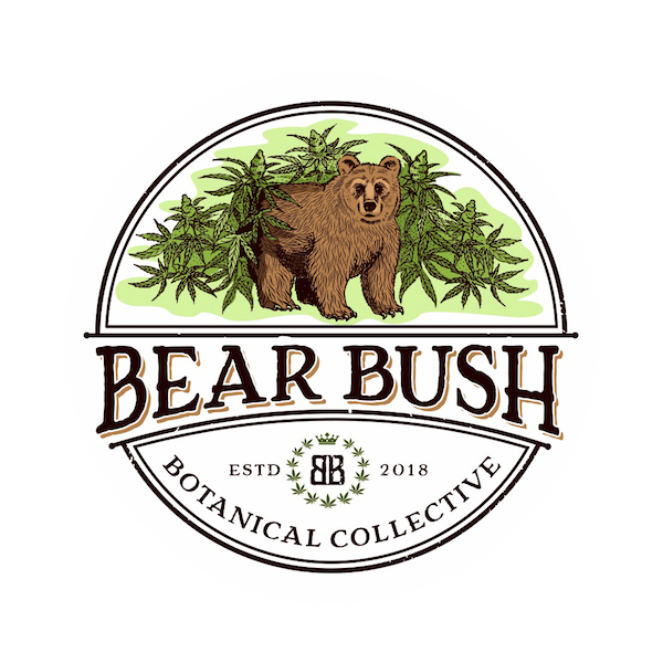 Bear Bush Cannabis Light Shop Self H24 Delivery Dispensary Store Grow & Seed Icon