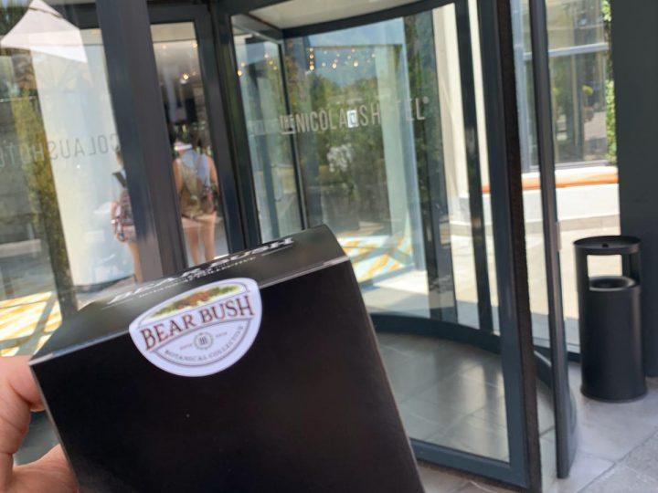 Servizio di Delivery Cannabis Light consegnato a Bari al NICOLAUS HOTEL