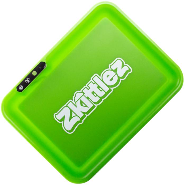 Glow Tray X Zkittlez (VERDE) - Vassoio a LED
