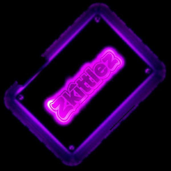 Glow Tray X Zkittlez (VIOLA) - Vassoio a LED