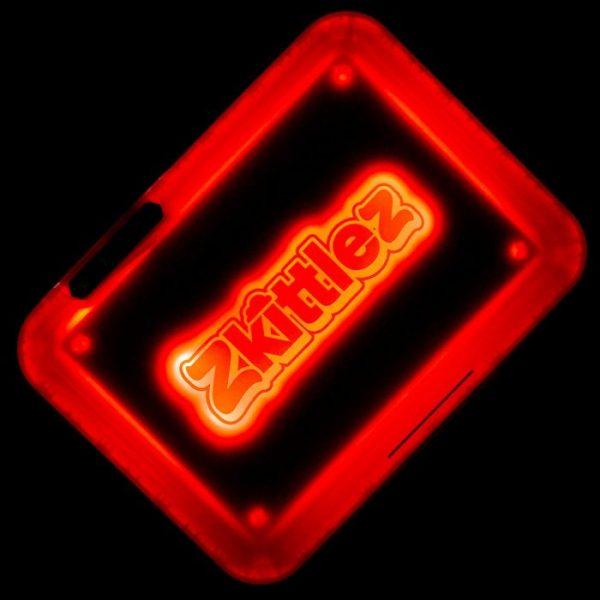 Glow Tray X Zkittlez (ROSSO) - Vassoio a LED