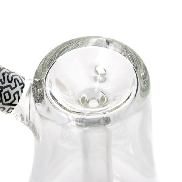 black-white-bubbler-glass-k-haring-bear-bush-5