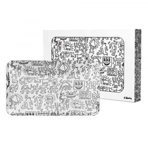glass-tray--black-and-white-keith-haring-bear-bush-1
