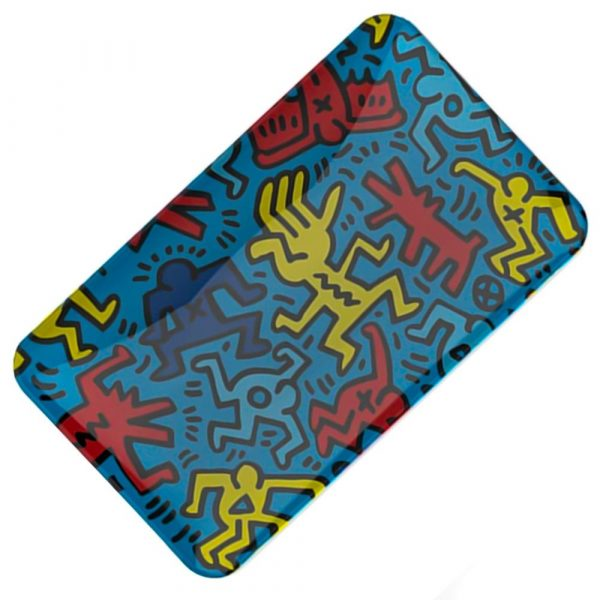 glass-tray-blue-keith-haring-bear-bush