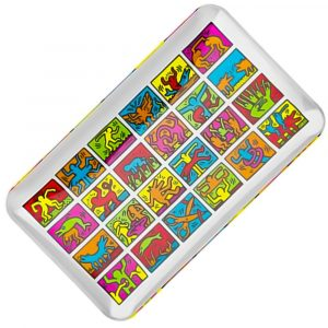 glass-tray-multi-colours-keith-haring-bear-bush