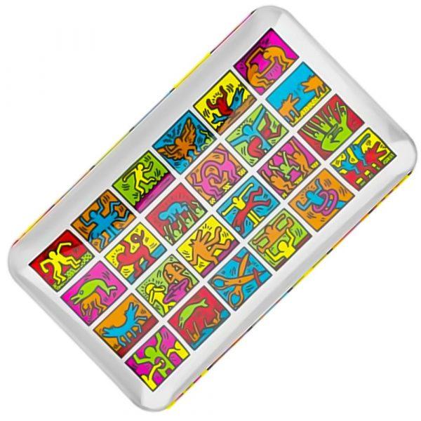 glass-tray-multi-colours-keith-haring-bear-bush