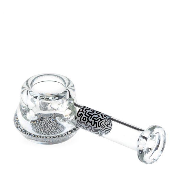 spoon-hand-pipe-black-white-keith-haring-bear-bush-2