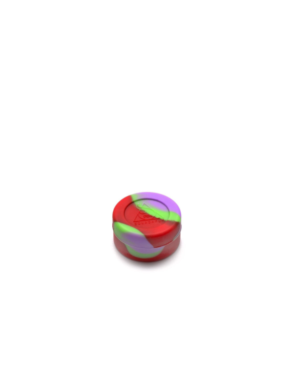 CONTENITORE-M-silicone-squadafum-GREEN-PURPLE-RED-bearbush-